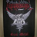 "Patch - Necroholocaust ""Goat Metal"" Official embroidered backpatch"