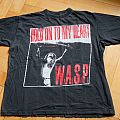 "W.A.S.P. ""Hold on my heart - Crimson Idol Tour - Jonathan R.I.P."" (Original) TShirt or Longsleeve"