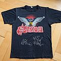 "Saxon ""Denim & Leather Tour"" (Original) TShirt or Longsleeve"