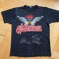 "Saxon ""Denim & Leather Tour"" (Original) TShirt or Longsleeve"