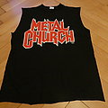 "Metal Church ""hanging in the balance"" tour shirt 1994 1995 (Original)"