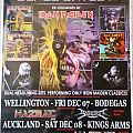 PAUL DI'ANNO - Other Collectable - Paul Di'Anno / Blaze Bayley Tour Poster Signed
