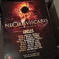 Ne Obliviscaris - Other Collectable - Ne Obliviscaris Signed Tour Poster