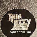 Thin Lizzy Chinatown World Tour patch 1980