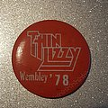 Thin Lizzy gig pin Pin / Badge