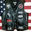 Leather battle vest