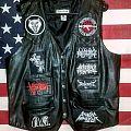 Leather battle vest