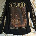 Necrot Blood Offering longsleeve