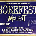 Gorefest - Other Collectable - Concert poster