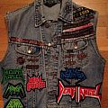 battle jacket DIO headlined - slayer-wacken-kreator custom patch