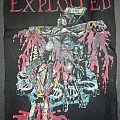 "The Exploited - Patch - The Exploited ""Jesus is Dead"" back patch"