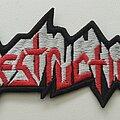 Destruction - Patch - Destruction logo shaped patch