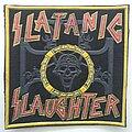 Slayer - Patch - Slayer Satanic Slaughter rubber patch