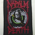 Napalm Death - Patch - Napalm Death 'Life?' patch