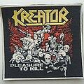 Kreator - Patch - Kreator 'Pleasure to Kill' rubber patch