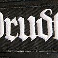 Drudkh Basic White Logo - Gothic Font Version