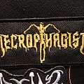 Necrophagist Gold Logo Patch