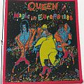 QUEEN - Magic In Europe 1986 red border patch