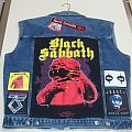 BLACK SABBATH - Born Again t-shirt turned into back patch  *update*