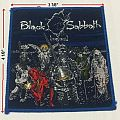 BLACK SABBATH - Live Evil blue border patch