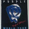 DEEP PURPLE - Perfect Strangers tour patch