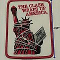 "THE CLASH patch - ""Wraps Up America"""