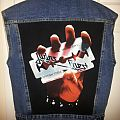 JUDAS PRIEST - British Steel cover DIY back patch *in progress*
