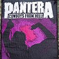 Pantera Patch Cowboys from Hell
