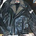 raw punk leather Battle Jacket