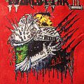 Voivod - Patch - Voivod World War III hand painted patch, full color