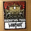 Wehrmacht - Other Collectable - Band Pass, Wehrmacht, Obscene Extreme Fest 2014
