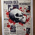 Wehrmacht - Other Collectable - Wehrmacht, Poison Idea Club Satyricon's last show ever flyer, 11 by 17