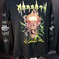 "Morgoth ""The Eternal Fall"" Long Sleeve T-Shirt, LARGE, rare, death metal"