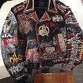 Deicide - Battle Jacket - Death Metal Battle Leather, custom hand painted by Duffmetal