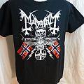 Mayhem - TShirt or Longsleeve - Mayhem 25th Anniversary T-shirt, LARGE, 2 sided, black metal, death metal