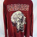 Carcass Long Sleeve, XL, Dark Red