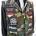 Napalm Death - Battle Jacket - Battle Jacket/Hoodie Combo. Camo, LARGE Napalm Death back patch