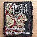 Napalm Death - Patch - Vintage Napalm Death patch, 1991