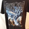 """Decrepit Birth T-Shirt, LARGE, """"And Time Begins"""" 2 sided, gore/grind"""