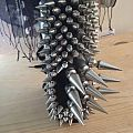 None - Other Collectable - Metal Gauntlet, 9 Spikes ov Satan, hand made by Duffmetal