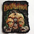 Destruction - Patch - Vintage Destruction patch, 89 or 90'  not sure