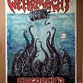 Wehrmacht flyer, w/ Engorged first reunion show, 2009, original line-up. Rare art
