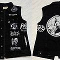 Napalm Death - Battle Jacket - Black and White Grindcore Battle Jacket (WIP)