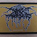 Darkthrone golden Logo Patch