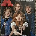 MEGADETH- posters/press Other Collectable