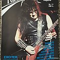 EXCITER posters/mags/etc. Other Collectable