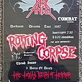 Rotting Corpse - Other Collectable - ROTTING CORPSE- demos/poster/etc.