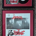 "Venom - Other Collectable - VENOM- Bloodlust 7"" vinyl & promo poster"