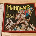 manowar - patch - hail to england