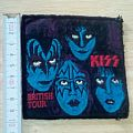 kiss - patch - british tour